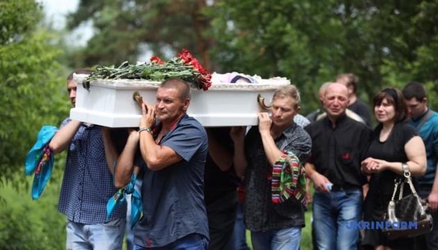 Переяслав-Хмельницький: Прощання з померлим 5-річним Кирилом Тлявовим