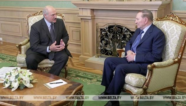 Kuchma se reúne en Minsk con Lukashenko (Vídeo)