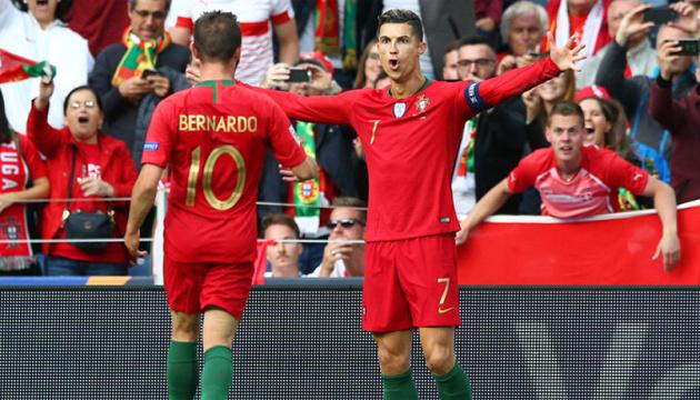 Хет-трик Роналду вивів Португалію до фіналу Ліги націй УЄФА