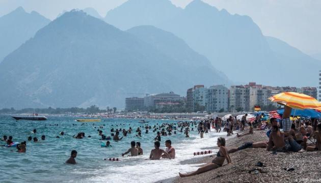 У Туреччині готелі заповнені туристами на 95%
