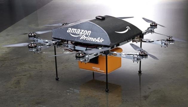 Amazon незабаром доставлятиме пакунки безпілотниками