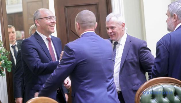 Парубій відкрив Х сесію Міжпарламентської асамблеї України, Литви і Польщі
