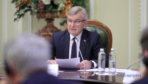 Парламент Литви закликає світ до солідарності щодо невизнання анексії Криму