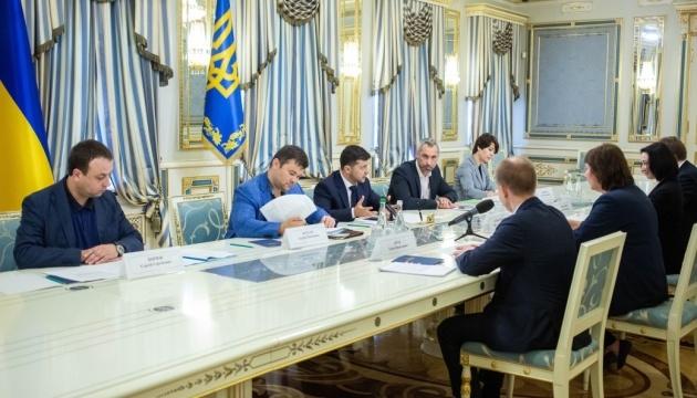 Zelensky discusses launch of Anti-Corruption Court
