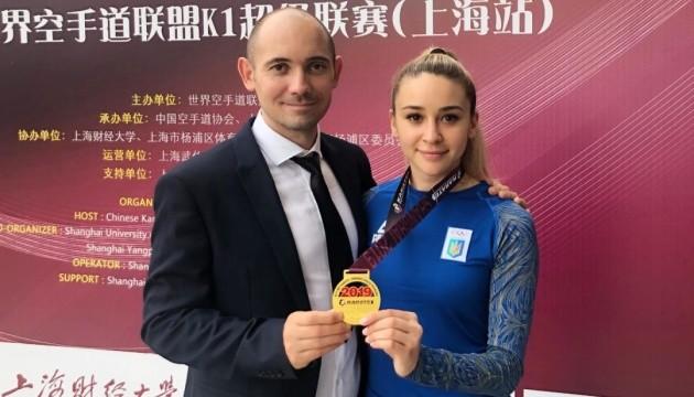 Українка Терлюга виграла Karate1 Premier League в Шанхаї