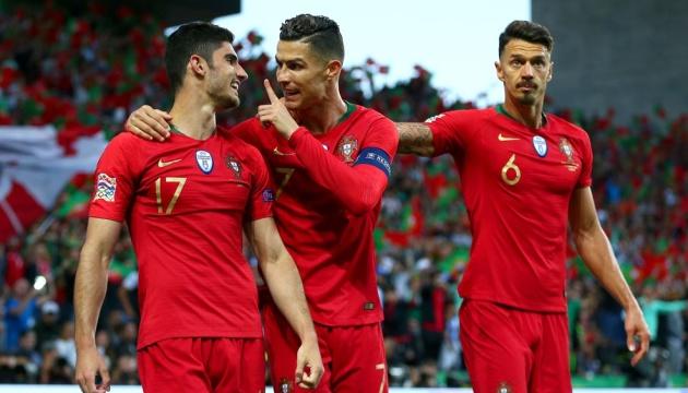 Португалія обіграла Голландію у фіналі першого розіграшу Ліги націй УЄФА