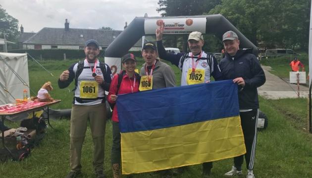 Українські ветерани завоювали чотири «золота» на міжнародних змаганнях у Шотландії