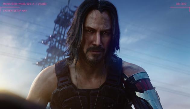 Кіану Рівз розкрив дату виходу гри Cyberpunk 2077