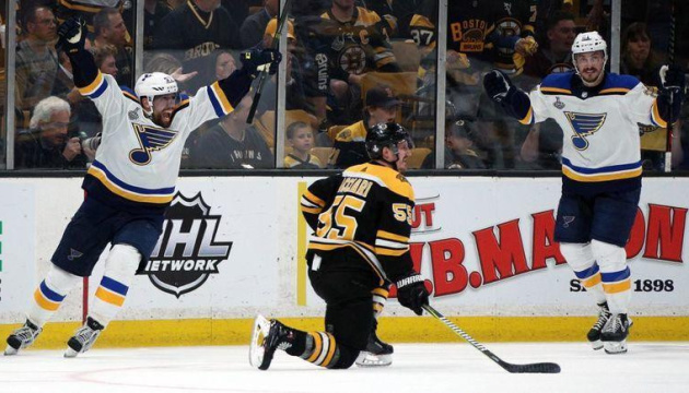 """Хокеїсти """"Бостона"""" і """"Сент-Луїса"""" визначать переможця в Кубку Стенлі в 7-й грі"""