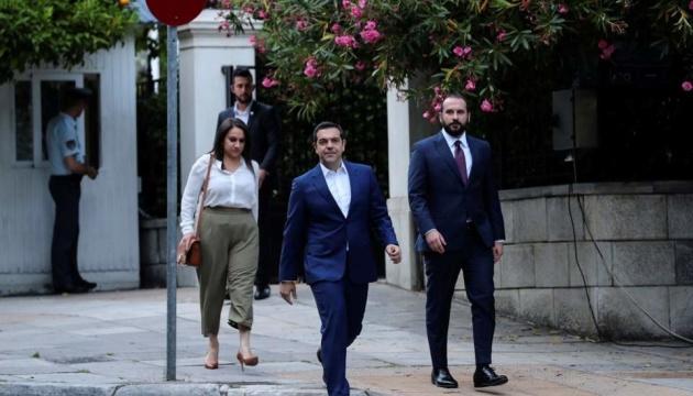 Ципрас просить президента Греції розпустити парламент