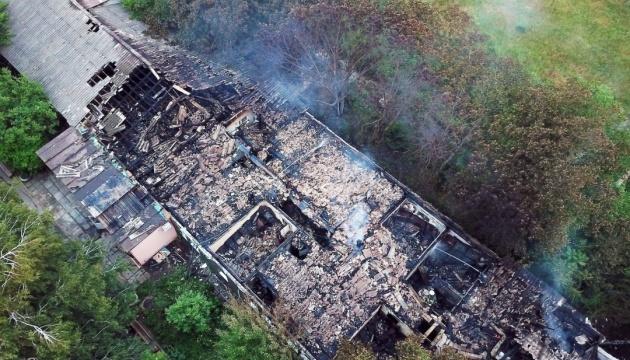 Nazwano wstępną przyczynę pożaru  w Odeskim Szpitalu Psychiatrycznym ZDJĘCIE
