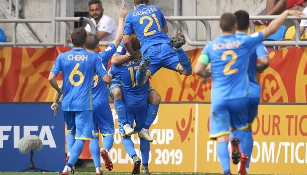 Украина в меньшинстве обыграла Италию и вышла в финал чемпионата мира U20 по футболу