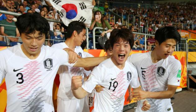 Україні дісталися корейці у фіналі юнацького чемпіонату світу з футболу