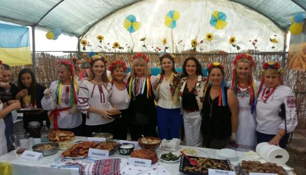 Українська громада взяла участь у благодійному фестивалі у Салоніках
