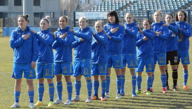 Українські футболістки сьогодні в Києві проведуть спаринг зі збірною Білорусі