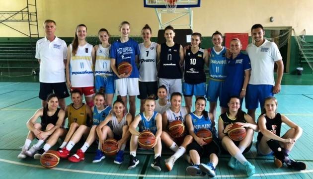 Баскетбол: жіноча збірна України U-18 проведе спаринг зі студентками
