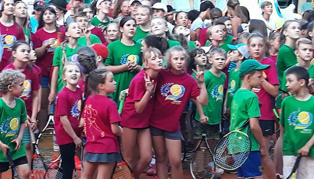 В Харькове стартовал детский международный теннисный