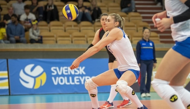 Волейболистки сборной Украины победили Швецию в Золотой Евролиге