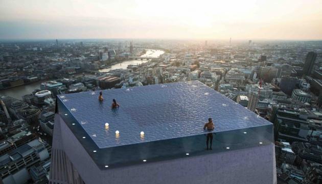 На даху лондонського хмарочоса з'явиться басейн із 360-градусним оглядом