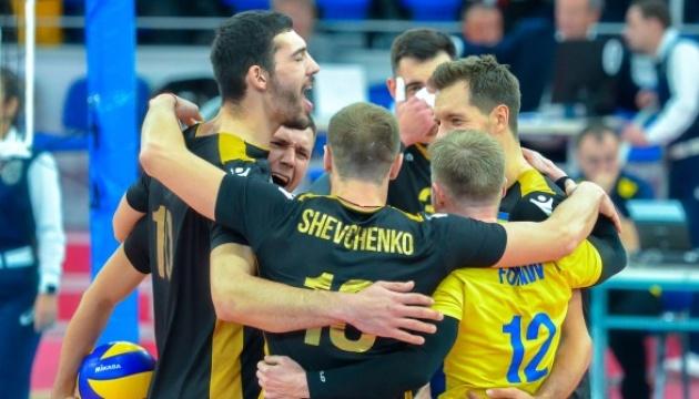 Украинские волейболисты разгромили Чехию в Золотой Евролиге