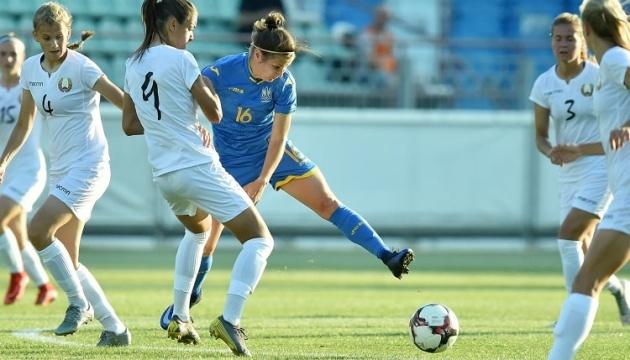 Футбол: жіноча збірна України 1:1 зіграла товариський матч із білорусками