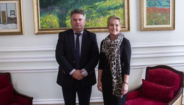 Новий посол Фінляндії почала роботу в Україні