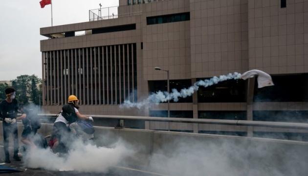 В центре Гонконга закрыли все правительственные офисы из-за протестов