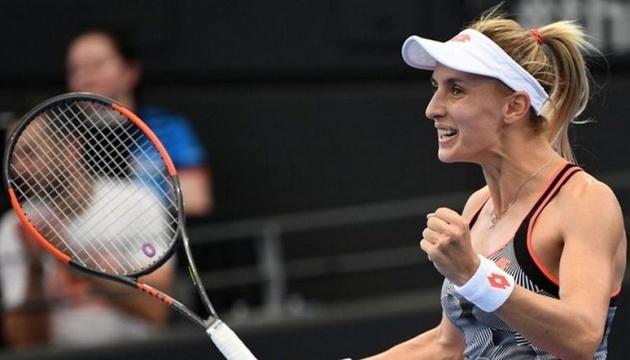 Цуренко зіграє у парному півфіналі турніру WTA в Голландії
