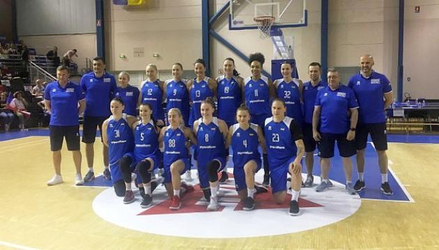 Жіноча збірна України з баскетболу опустилася на 10 місце в рейтингу сили ФІБА