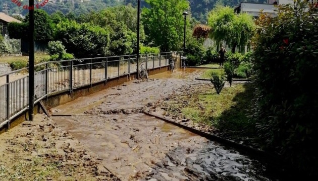 Через сильні повені на півночі Італії евакуювали людей