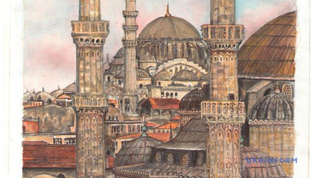 La familia de Súshchenko ha recibido un dibujo de Estambul (Fotos)