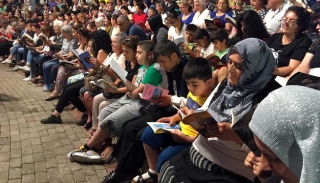 У Стамбулі проводять флешмоби задля популяризації читання