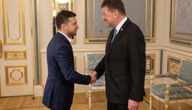 Зеленський розповів главі ОБСЄ про перезавантаження Мінської групи