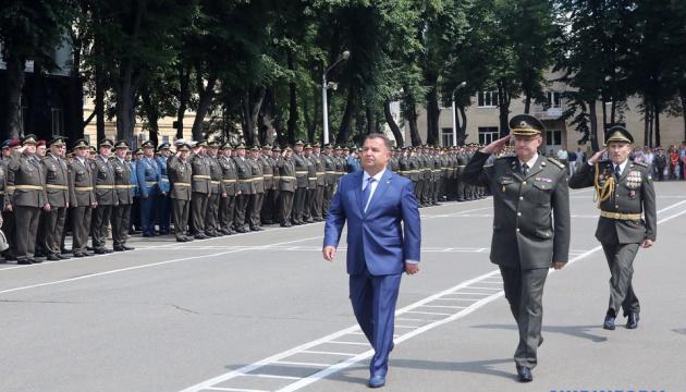 Дипломи отримали понад 600 курсантів - більшість із них воювали на Донбасі