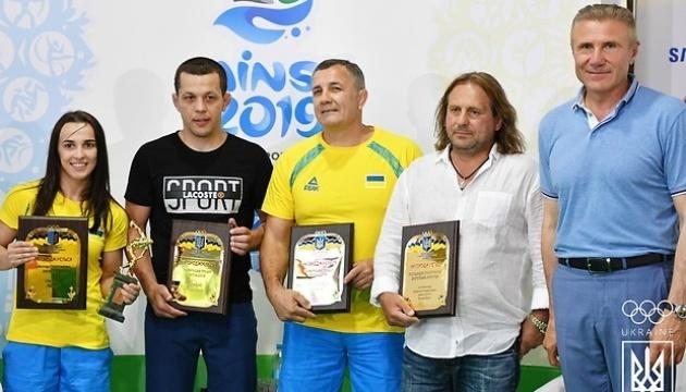 Лучшая украинская спортсменка месяца Оксана Ливач получила награду НОК