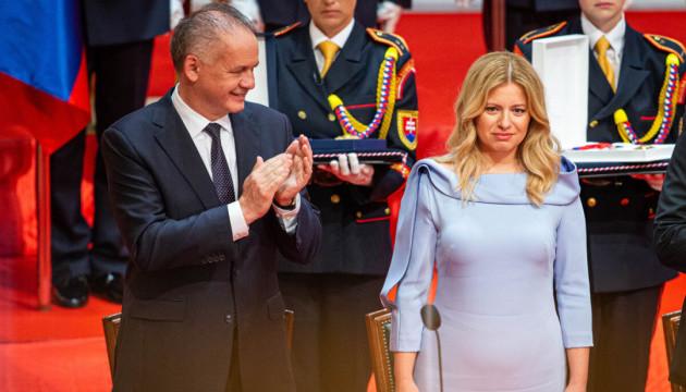 Президент Словаччини Зузана Чапутова вступила на посаду