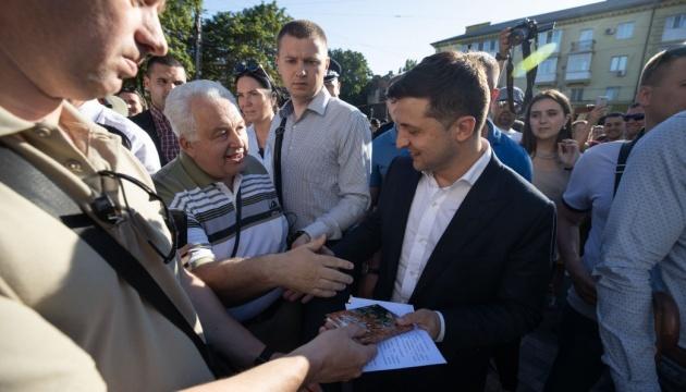 Президент привітав мешканців Маріуполя з п'ятою річницею визволення