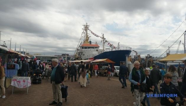 В Нидерландах провели фестиваль селедки