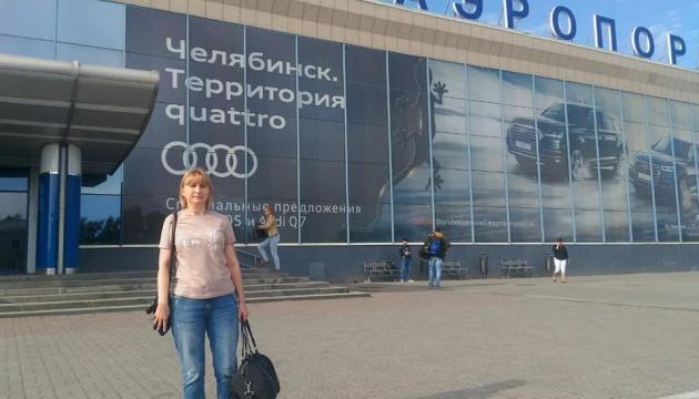 Мати Кольченка відвідала сина у російській колонії