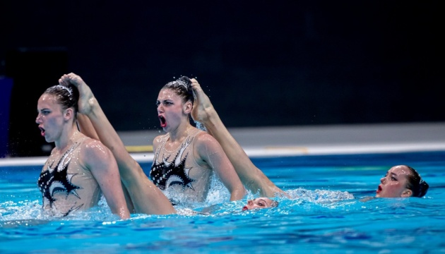 Ucrania gana la Superfinal de las World Series de natación artística en Budapest