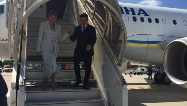 Зеленський прибув з офіційним візитом до Парижа