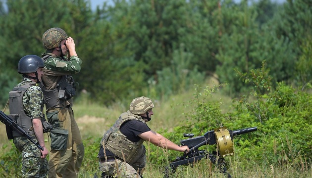 Russian-led forces violated ceasefire in Donbas 44 times in last day