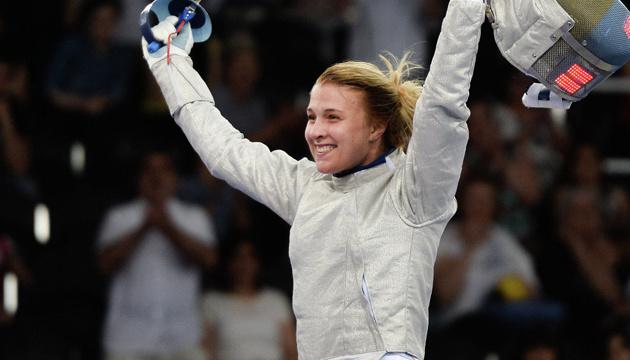 Olga Kharlan remporte la médaille d'or aux Championnats d'Europe d'escrime