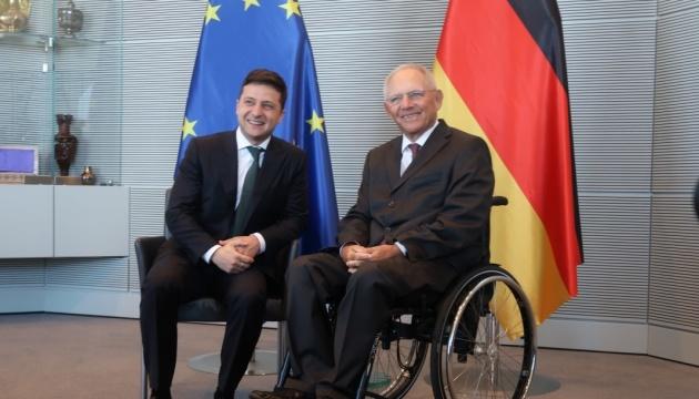 Зеленський зустрічається у Берліні з главою Бундестагу Шойблє