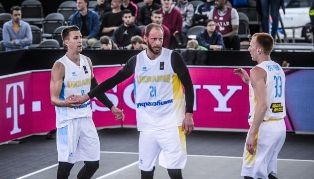 Чоловіча збірна України з баскетболу 3х3 зіграє у плей-офф чемпіонату світу