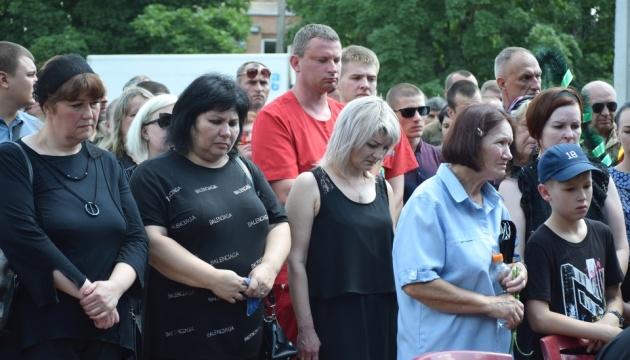 На Кировоградщине похоронили командира разведчиков Павла Тихонова