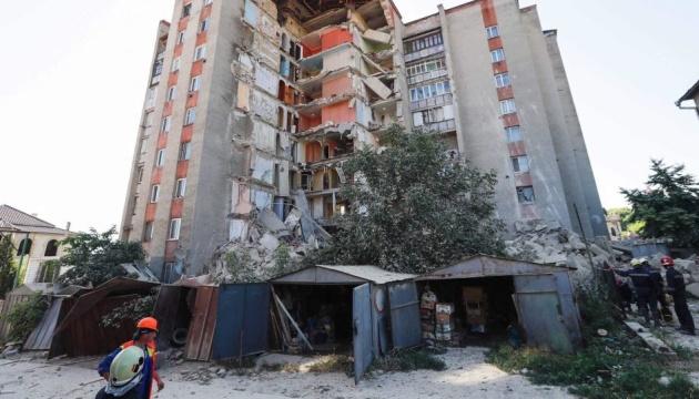 У Молдові обвалився дев'ятиповерховий будинок