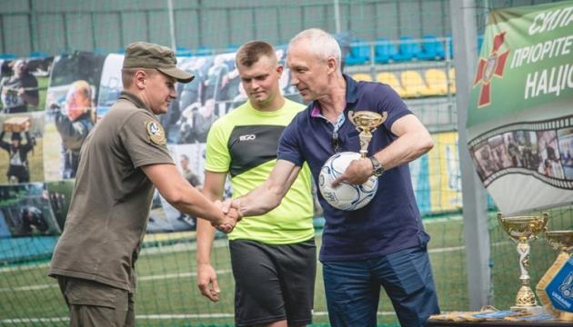 У Києві відбувся чемпіонат із міні-футболу серед нацгвардійців