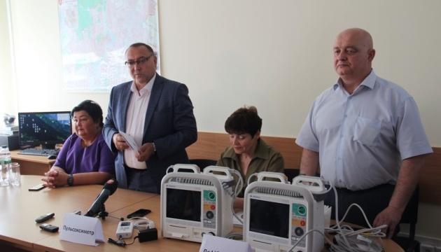 Вінницькому обласному центру екстреної медичної допомоги та медицини катастроф передано сучасне обладнання