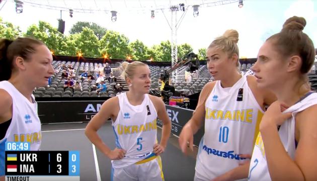 Женская сборная Украины 3х3 разгромила Индонезию на чемпионате мира